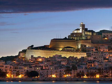 El barrio de Dalt Vila de Ibiza