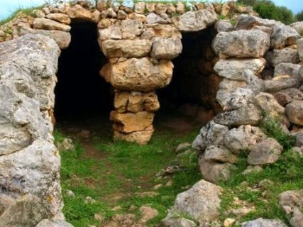Die prähistorische Siedlung Son Mercer de Baix