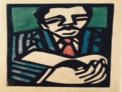 """Exposición SACHA TRÖGER Gravats.""""CADA DIA VIATJO AMB EL BLUES"""
