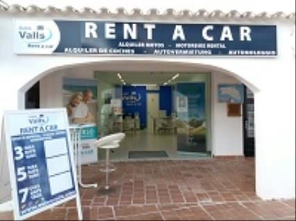 Autos Valls Rent a Car, Cala Galdana