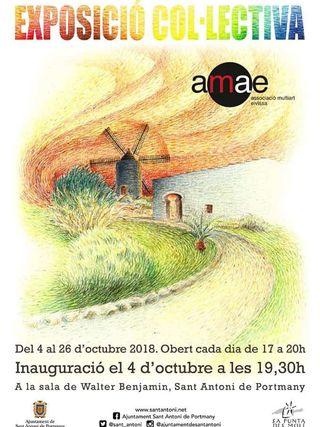 Exposición colectiva de otoño de la AMAE en Sa Punta des Molí