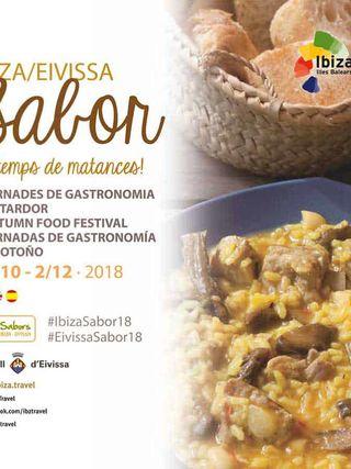 Amantes de la buena mesa, ¡llega el Ibiza Sabor de otoño 2018!