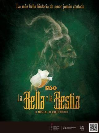 """""""La Bella y la Bestia. El Musical de Rafel Brunet """""""