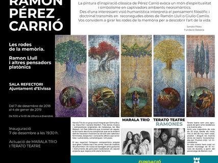 """""""Las ruedas de la memoria"""", exposición de Ramón Pérez Carrió en Ibiza"""