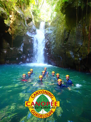 Canyoning: Canopée Forest Adventure