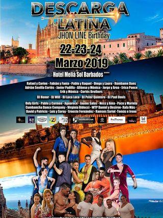 Descarga latina Festival Bday Jonh Line
