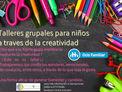 A través de la creatividad, Taller para niños
