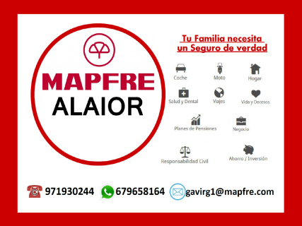 Le bureau Mapfre d'Alaior