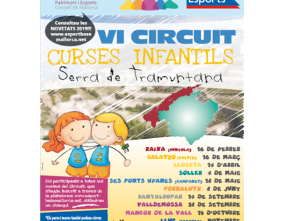 Carreras infantiles Serra de Tramuntana