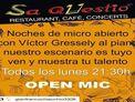 Open Mic cada lunes en Sa Qüestió Ibiza