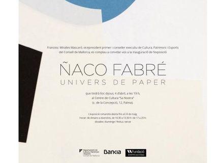 'Univers de paper' del artista Ñaco Fabré