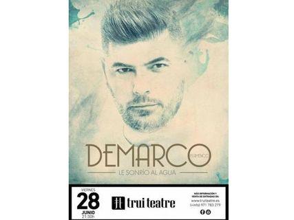 DeMarco Flamenco presenta su gira 'Le sonrío al agua'