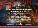 Opening de Aiyanna Ibiza con música y luna llena