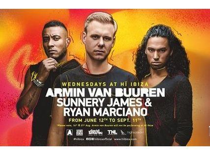 Armin van Buuren Sunnery James & Ryan Marciano