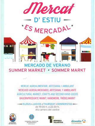 Mercado de Verano- Es Mercadal