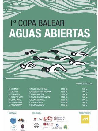 1ª Copa balear aguas abiertas en Es Carnatge