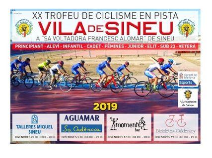 XX Trofeo de ciclismo en pista Vila de Sineu