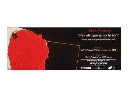 Exposición de pintura de Josep Rosales en Sa Nostra Sala