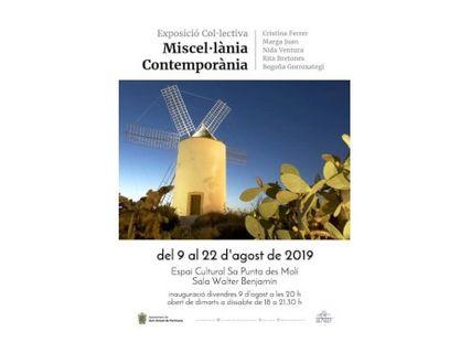Miscelánea Contemporánea, exposición colectiva en Sa Punta des Molí