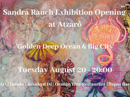 Sandra Rauch expone en Atzaró Ibiza