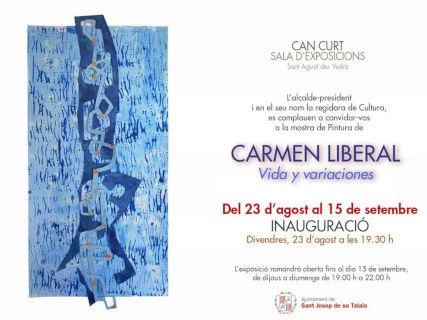 Vida y Variaciones, exposición de Carmen Liberal en Can Curt
