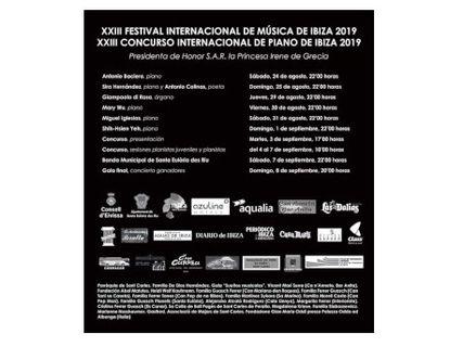Festival Internacional de Música y Concurso de Piano en San Carlos