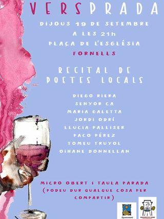 Recital de poetas locales