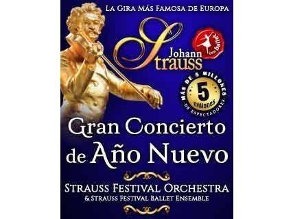 'Gran Concierto de Año Nuevo' con Johan Strauss Orchesta