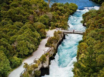 Huka Falls Walkway