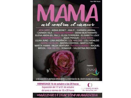 Mama, Arte Contra el Cáncer en el Club Diario de Ibiza