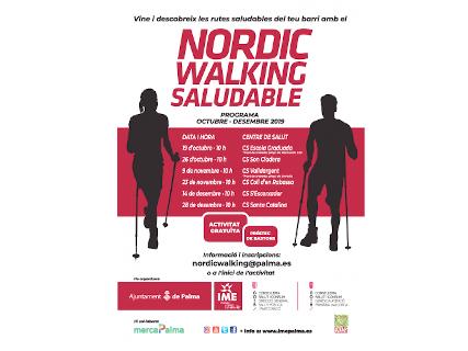 Nordic Walking Saludable s'Escorxador
