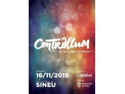 "Sineu celebra ""Contrallum"" noche de luces y patrimonio"