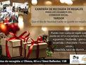 Recogida de regalos para personas sin hogar