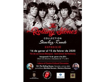 The Rolling Stones, exposición en el Faro de Coves Blanques
