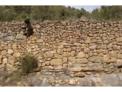 Taller práctico de pared de piedra seca