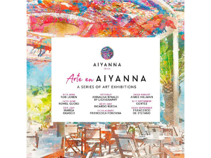 Art in Aiyanna Ibiza, a series of exhibitions