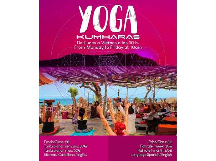 Yoga cada mañana en Kumharas Ibiza
