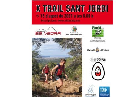 X Trail de Sant Jordi 2021.