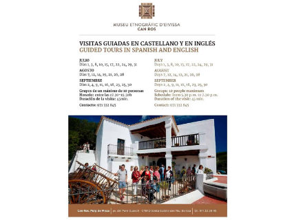 Guided visits to the Ethnographic Museum of Ibiza
