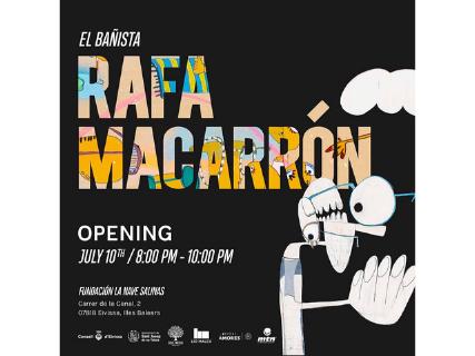 Rafa Macarrón's works in La Nave Salinas