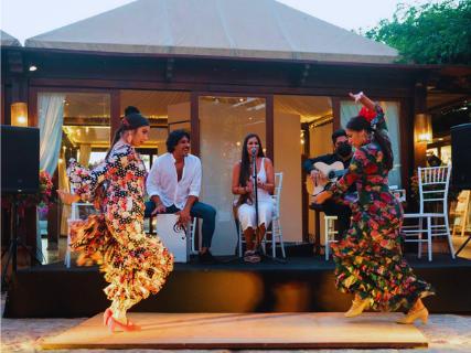 Música en vivo con Ibossim Flamenco