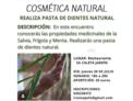 Taller de Cosmètica Natural (pasta de dents)