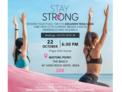 Solidarity yoga at the Pinktober at Hard Rock Hotel Ibiza