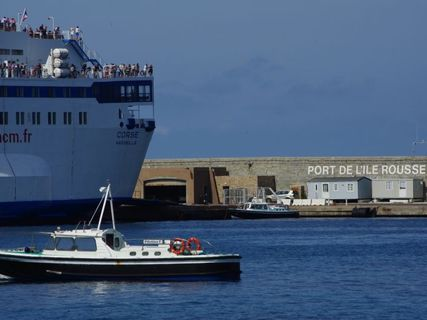 Ile Rousse harbour