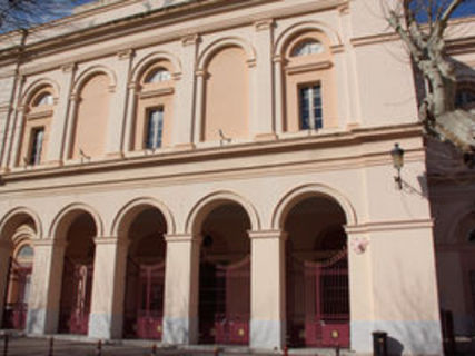 The theater of Bastia