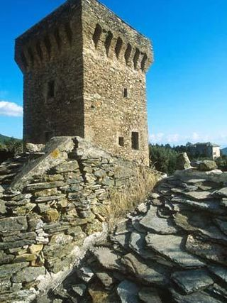 The inland towers of the Cap Corse