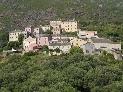 The village of Ogliastru