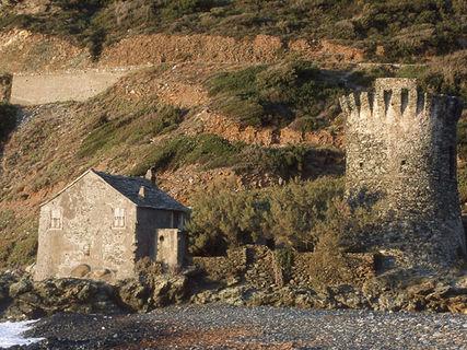 The village of Olmeta di Capicorsu