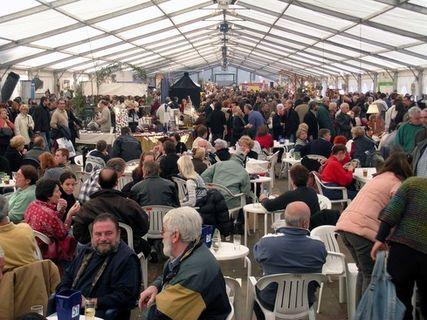 Station Bocognano: the chestnut fair