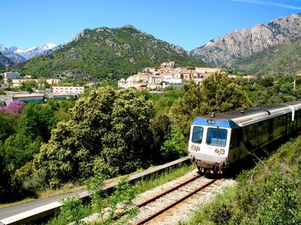 "Station Vivario ""U Trinighellu"" the little train Corsica"